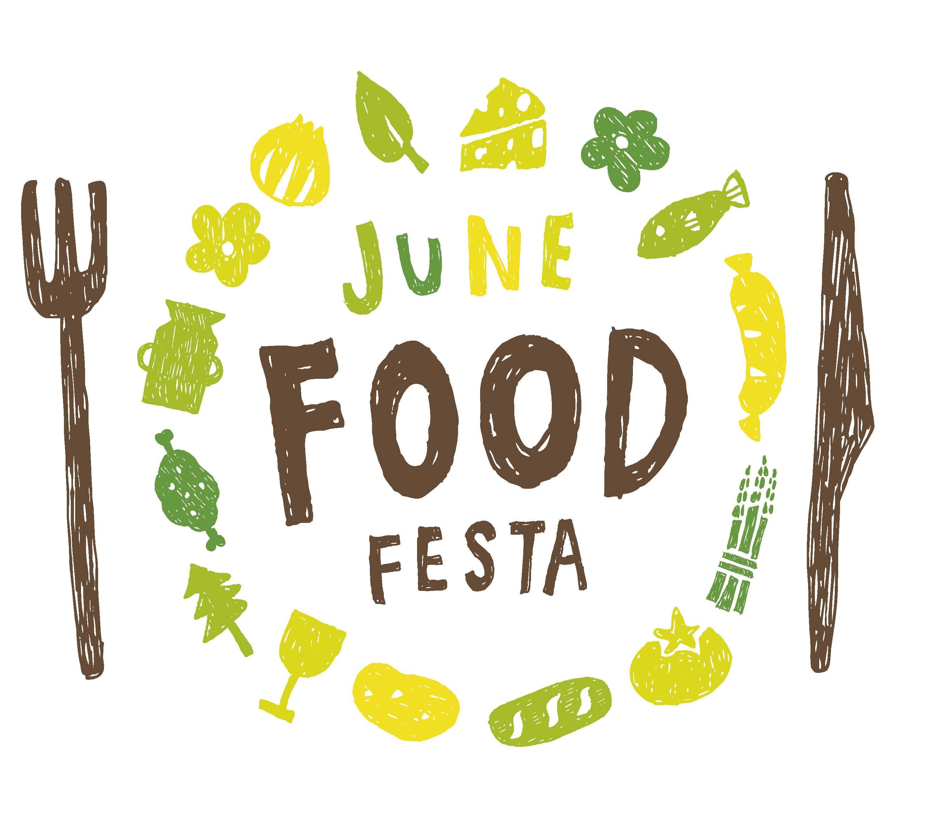 6月1日~2日「JUNE FOOD FESTA」開催‼